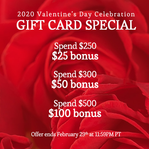 rA Organic Spa - 2020 Valentine's Day Gift Card Specials